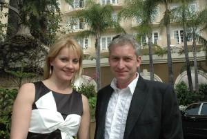 Zvukař Petr Forejt bydlel v hotelu se svojí manželkou Helenou. Foto: Luboš Procházka