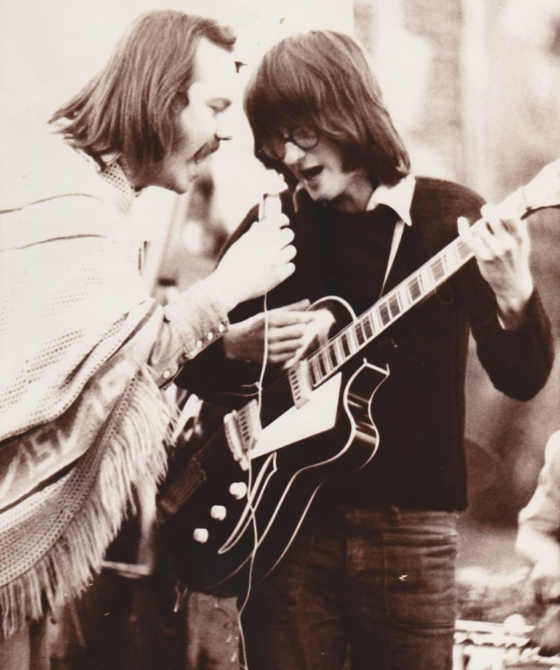 Ondřej Hejma a Ivan Hlav s roce 1972 s Žízní. Foto Ivan Poleňák