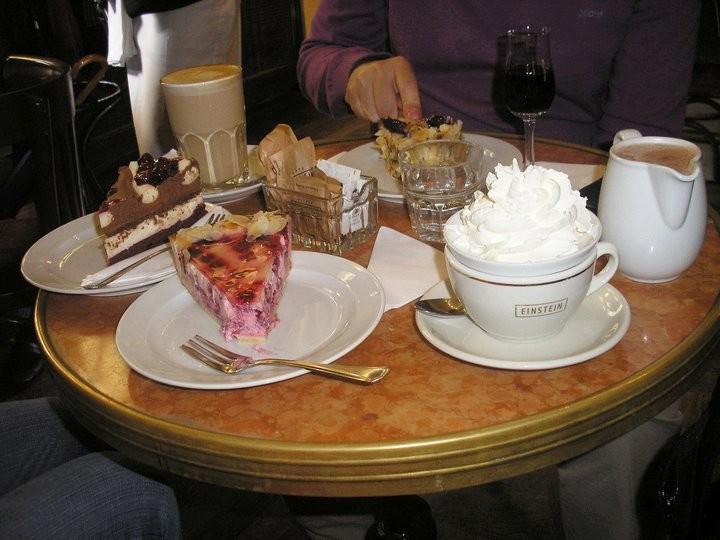 Na návštěvě v Cafe Einstein/foto Koule.cz
