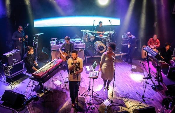 Android Asteroid v Lucerna Music Baru/Foto Vojtěch Kubec