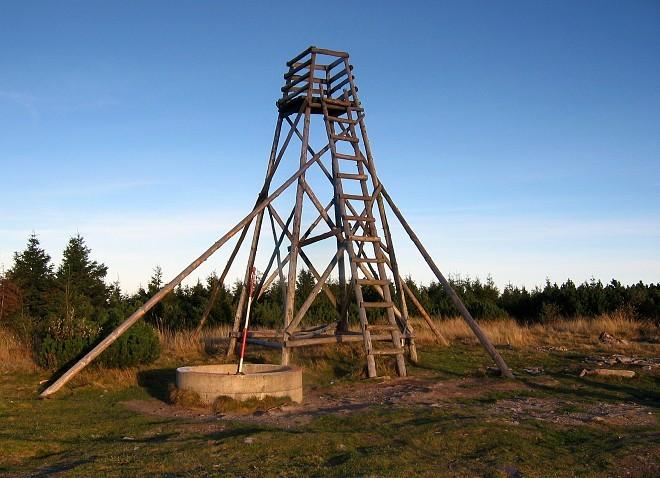 Rozhledna na Velké Deštné/foto orlickehory.net