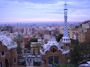 Gaudího Barcelona. Foto Hana Slívová