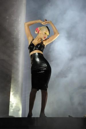 Christina Aguilera a její oblíbená latex