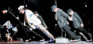 Michael Jackson a jeho tanec